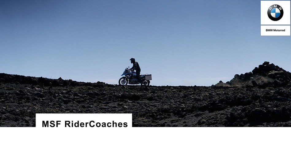 BMW - MSF RiderCoaches